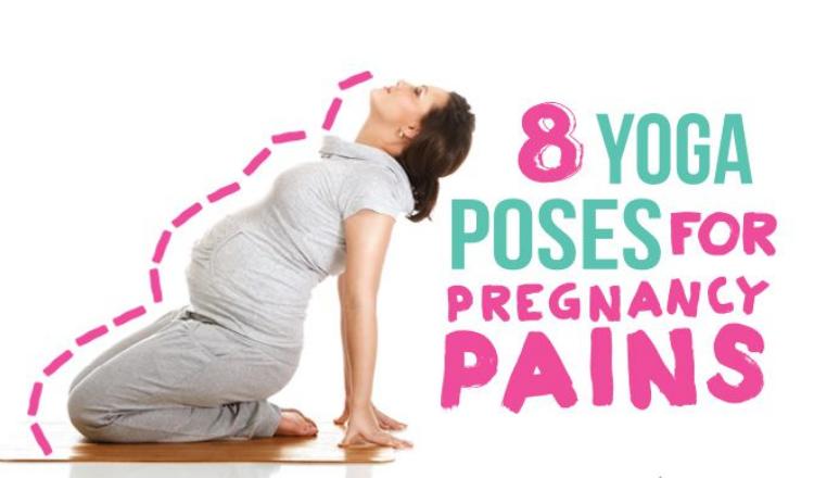 8 أوضاع لليوجا لتخفيف آلام الحمل