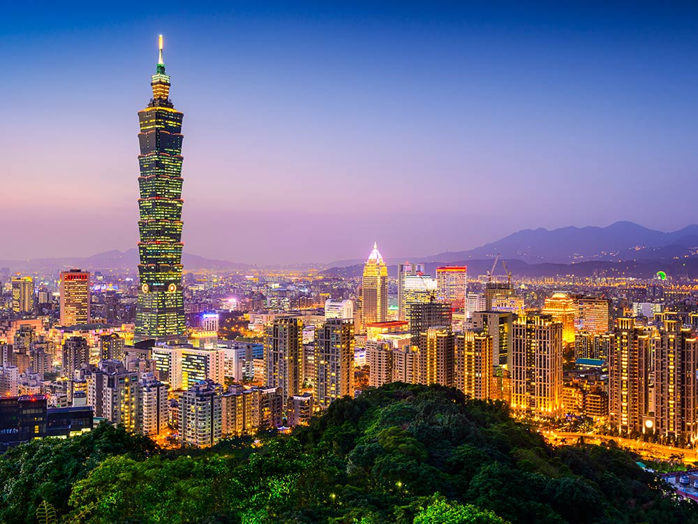 اجراءات استخراج فيزا  تايوان