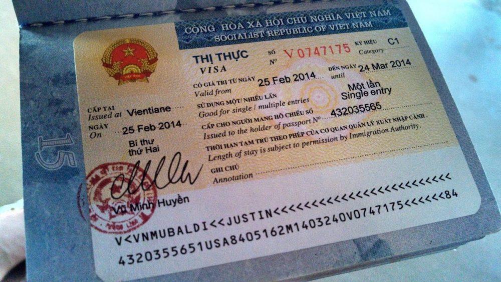 اجراءات استخراج فيزا  فيتنام