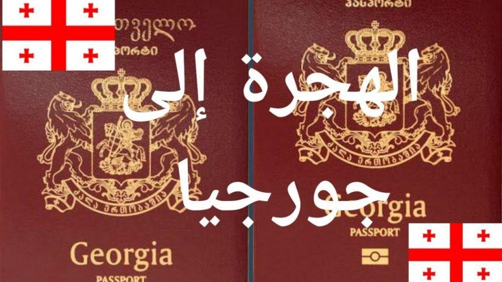 الهجرة إلى جورجيا تأشيرة الدخول إلى جورجيا الهجرة لجورجيا و الوثائق المطلوبة